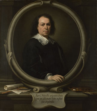 Bartolome Esteban Murillo self-portrait