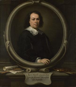 Bartolome Esteban Murillo self-portrait