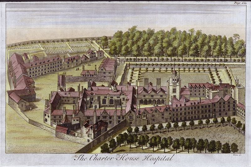 Charterhouse Hospital, 1770