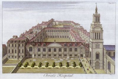 Christ's Hospital, 1770