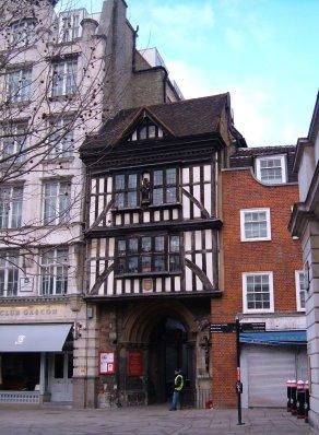 Gatehouse to St Bartholomew the Great