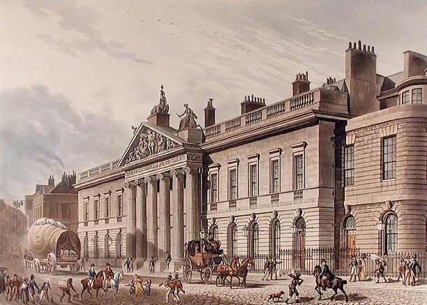 East India House, 1817