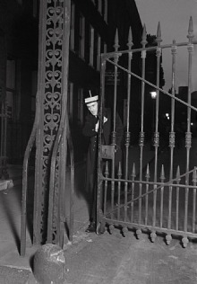 Ely Place 1934, night watchman
