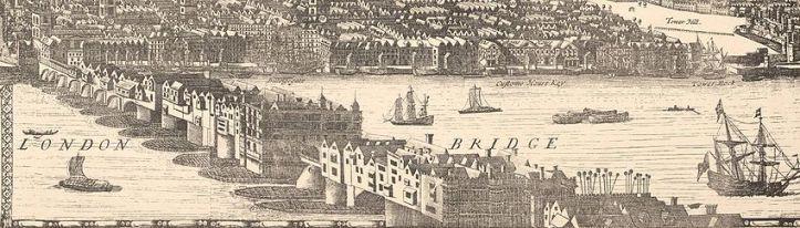 London Bridge, 1682