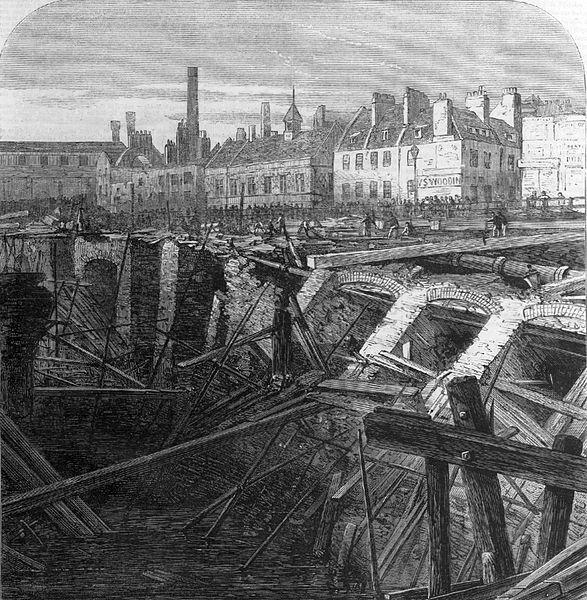 Metropolitan railway cutting