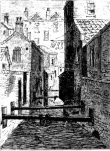The Fleet Ditch in 1844