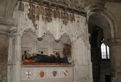 Rahere's tomb in St Bartholomew the Great
