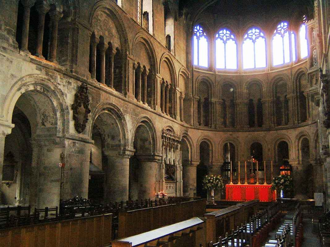 St Barts the Great, interior