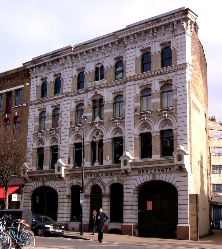 George Farmiloe's Warehouse in St John's Street