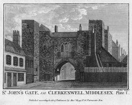 St John's Priory, the Gate, 18th century