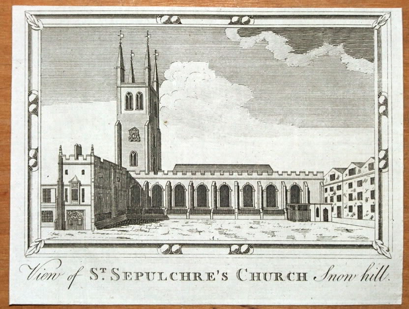 St Sepulchre Church, 17th century