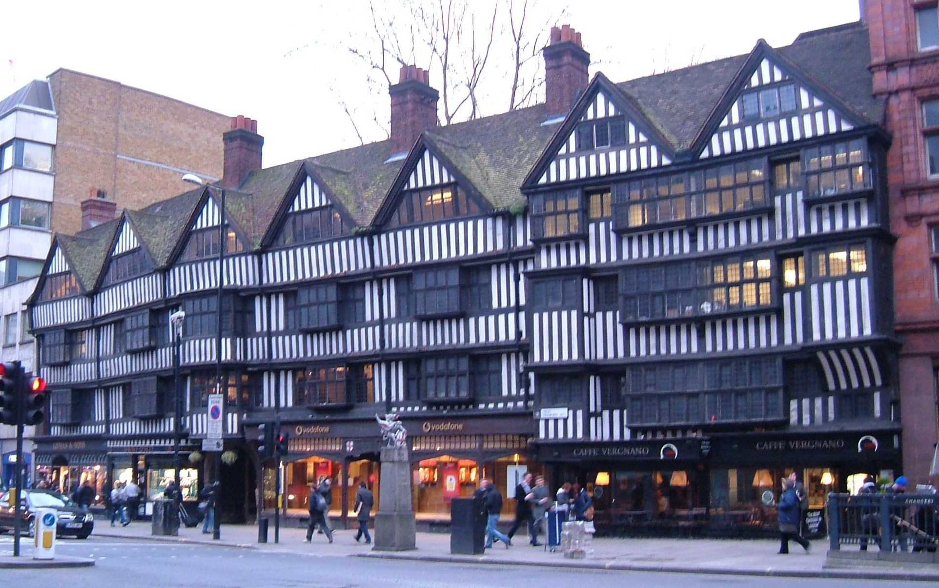 Breather Staple Inn Buildings