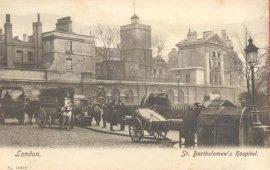 St Bartholomew's Hospital, early 1900s?