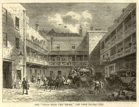 The Swan with Two Necks, Lad Lane (Gresham Street)