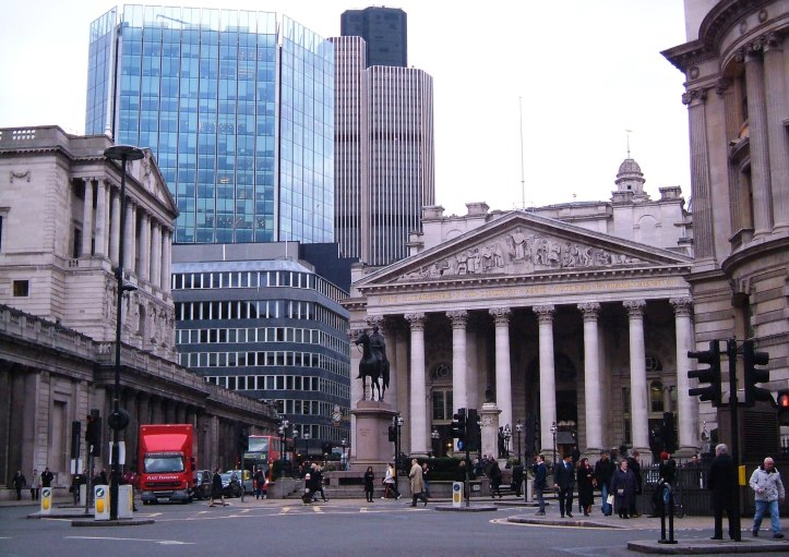 The Royal Exchange in 2013