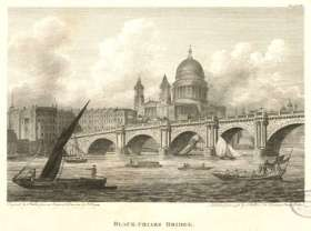 Blackfriars Bridge, completed 1769