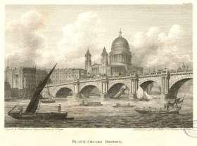 Blackfriars Bridge, completed 1769