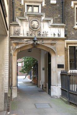 Clifford's Inn Gateway