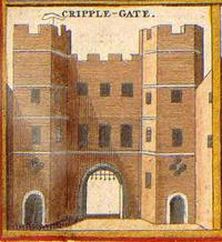Cripplegate in 1650