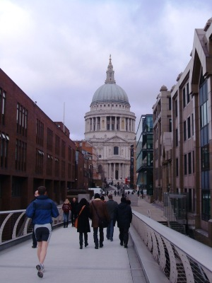 St Paul's from the Millennium Bridge