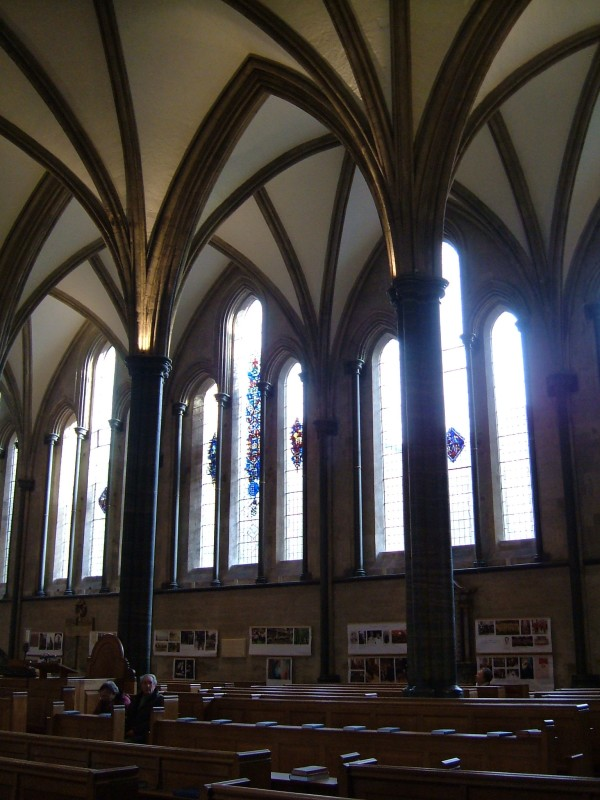 The interior of the Temple Church