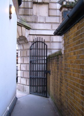 A small gateway into Lincoln's Inn