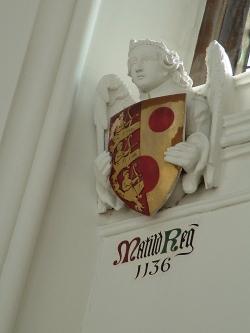 Queen Matilda's shield