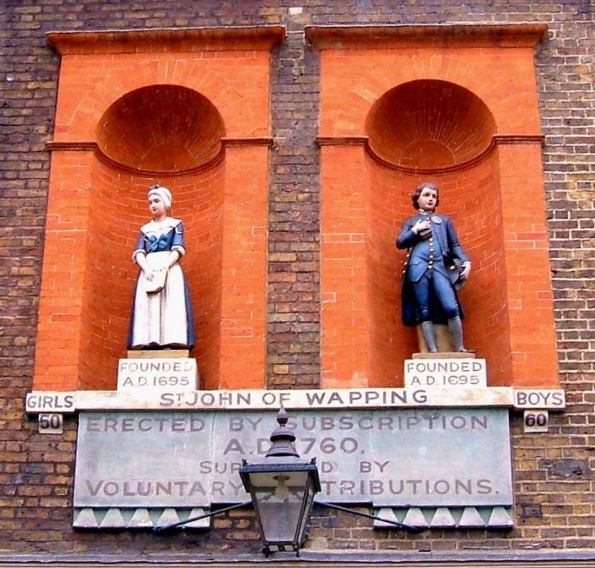 St John School statuettes