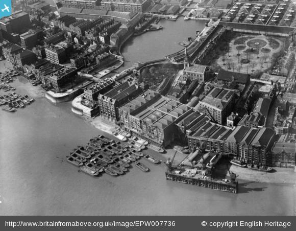 Wapping Basin, 1921