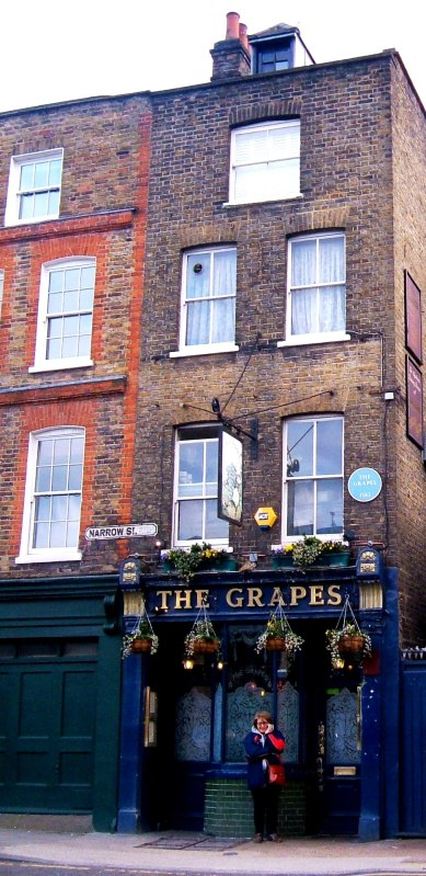 The Grapes public house