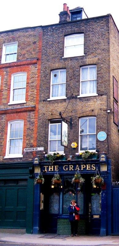 The Grapes public house