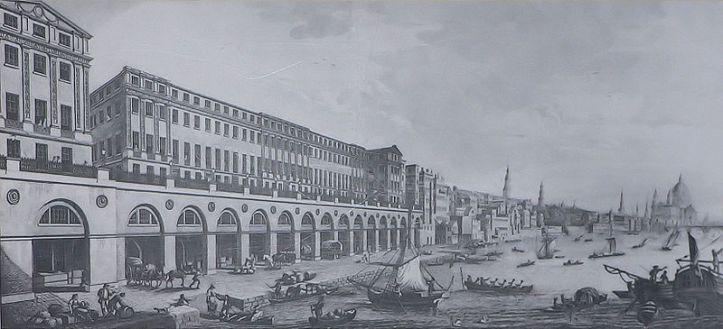 The Adelphi Terrace, 1768-72, by Robert and John Adams