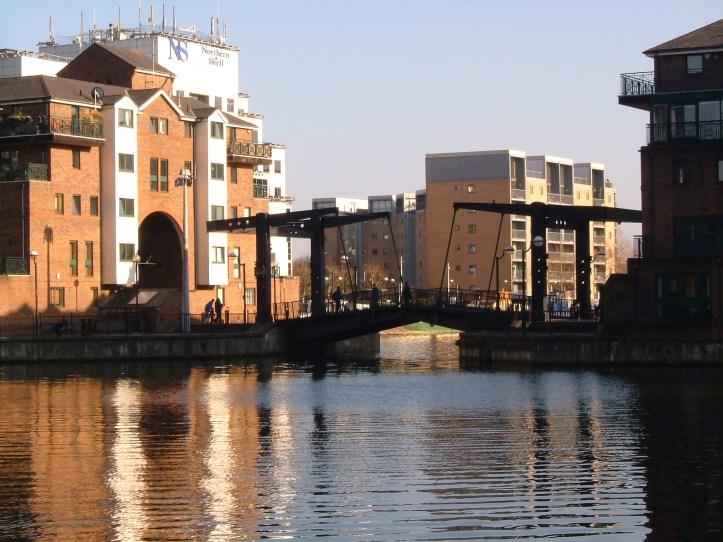 The Crossharbour bridge