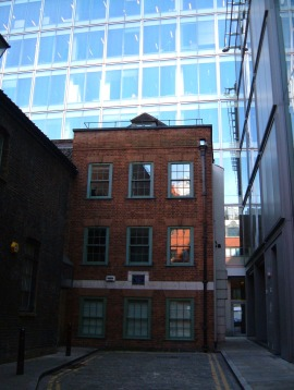 The house where John Wesley's mother was born in 1669