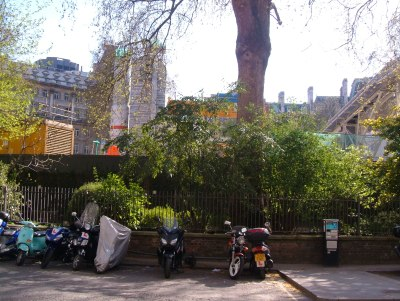The building site of Finsbury Circus