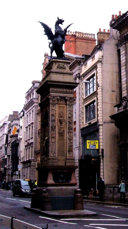 The site of Temple Bar