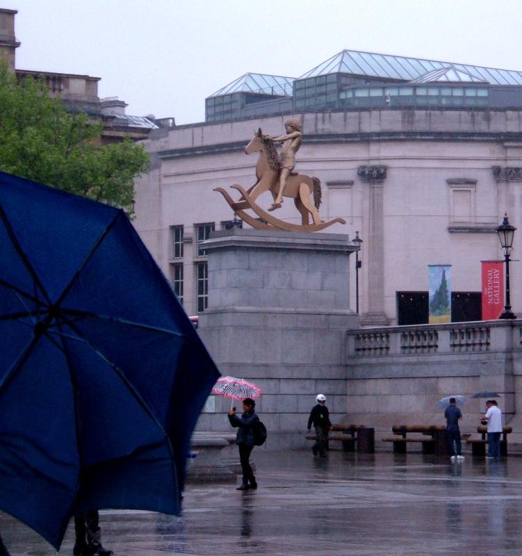 The 'Fourth Plinth', Trafalgar Square
