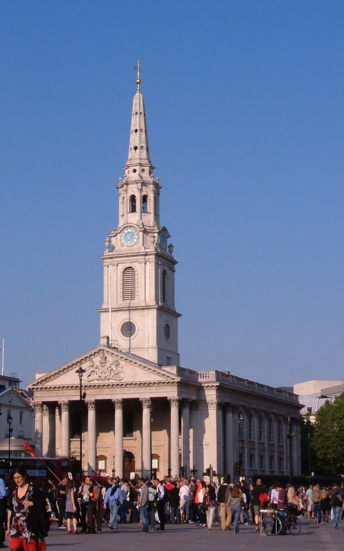 St Martin's in the Fields today