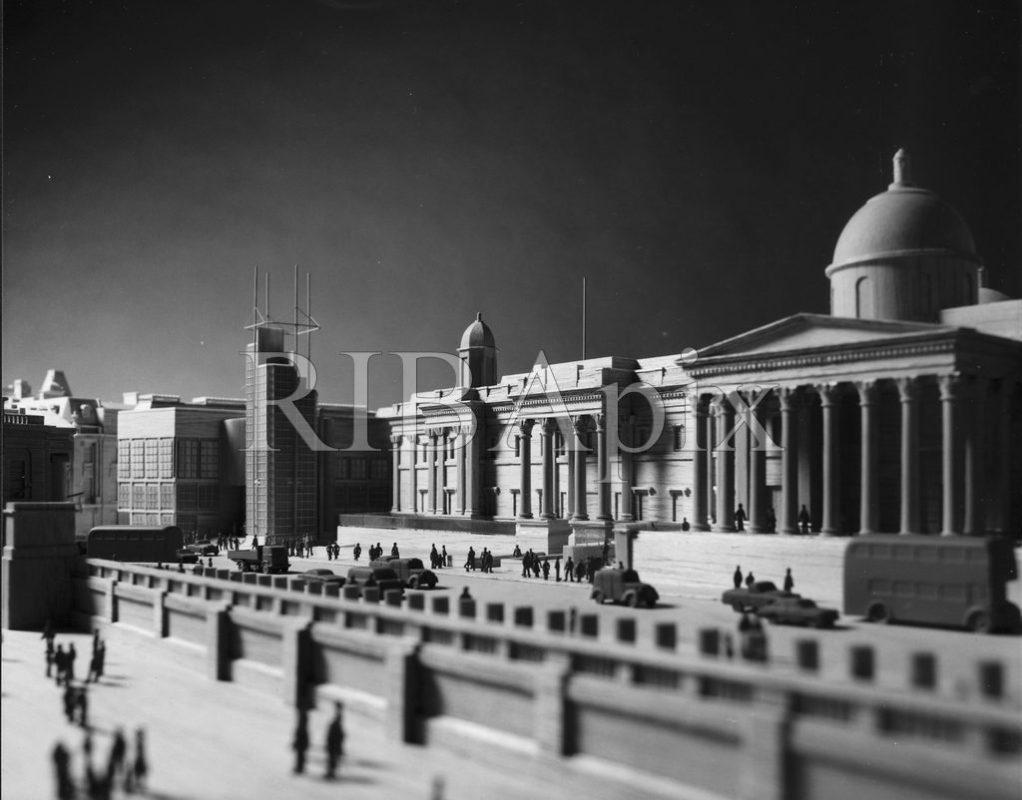 The ABK Proposal for the National Gallery extension in 1982