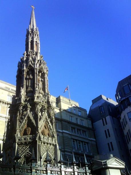 The memorial at Charing Cross