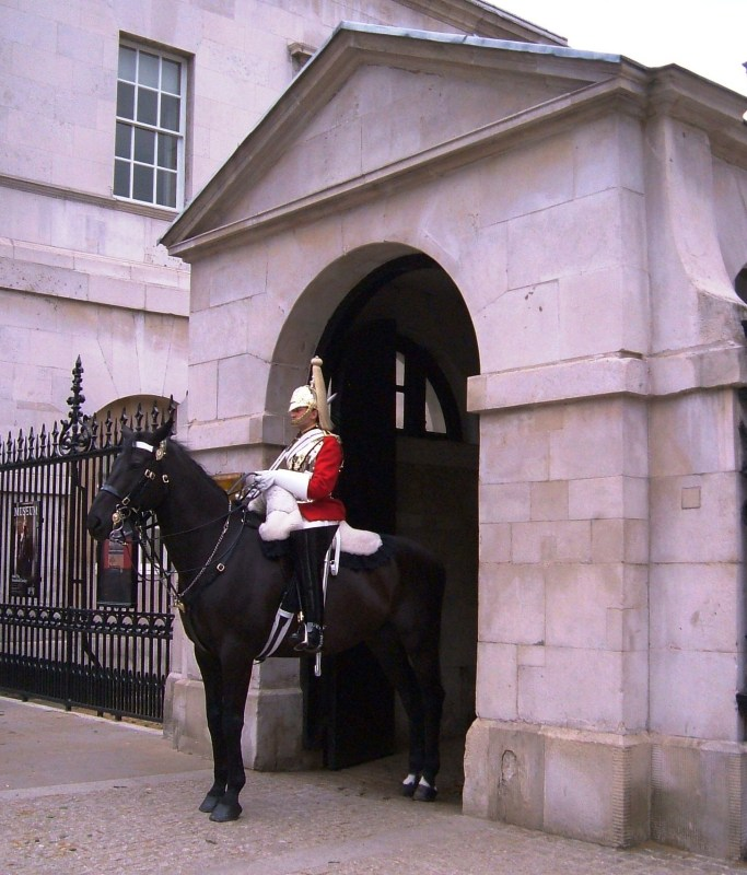 The Household Cavalry at Horseguards