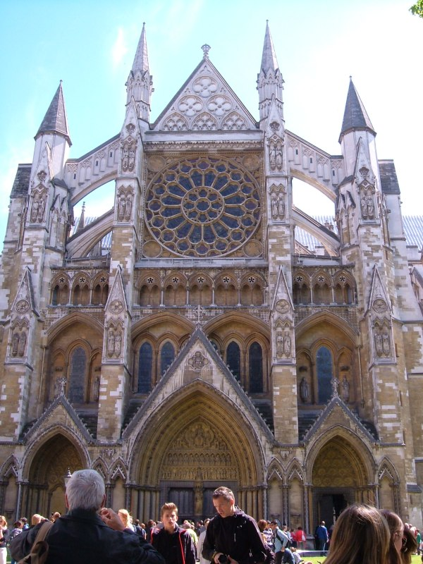 Westminster Abbey, the North door