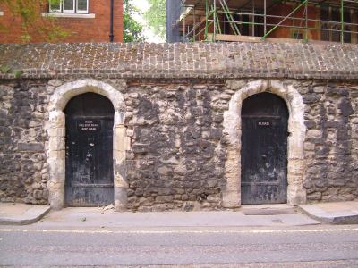 Two later gateways into Great College Street