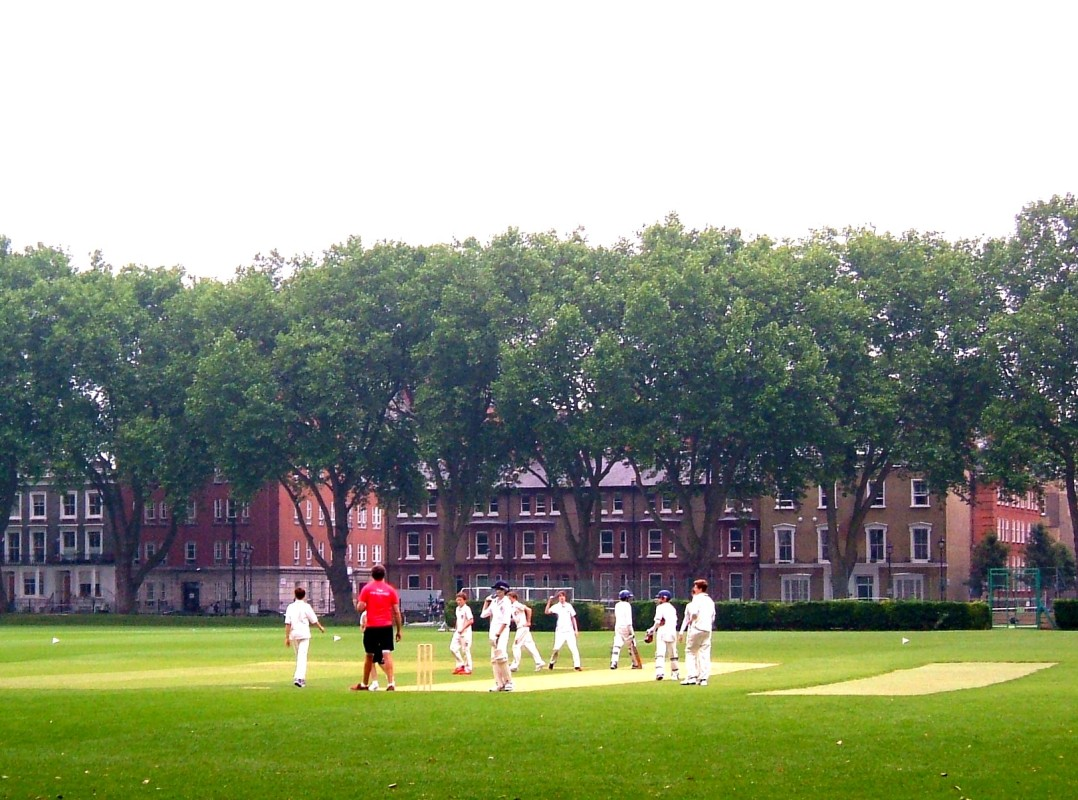 Cricket in St Vincent Square