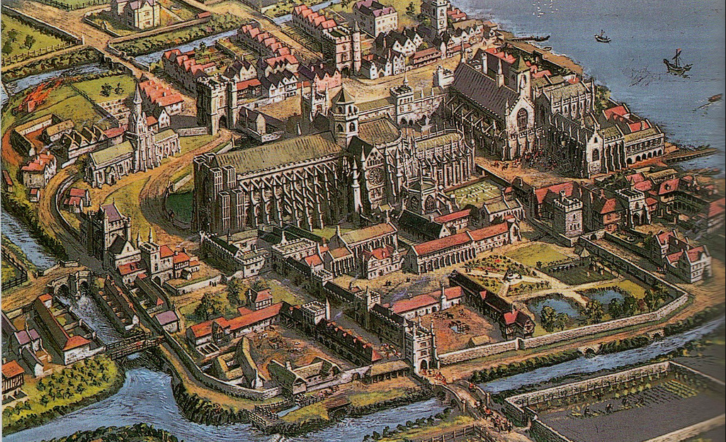 The Abbey and the Old Palace of Westminster