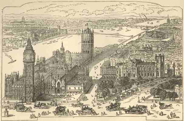 Westminster, from Collins' Guide of 1873