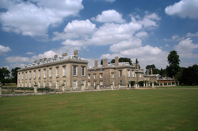 Althorp House, the ancestral home of the Spencer family