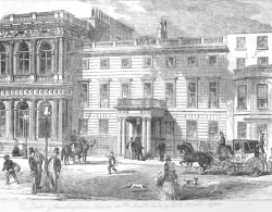 Buckingham House, 91 Pall Mall, 1855