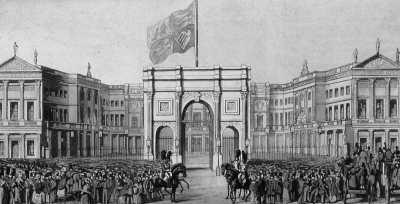 Buckingham Palace, 1840