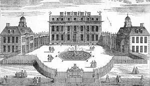 Buckingham House, c.1710